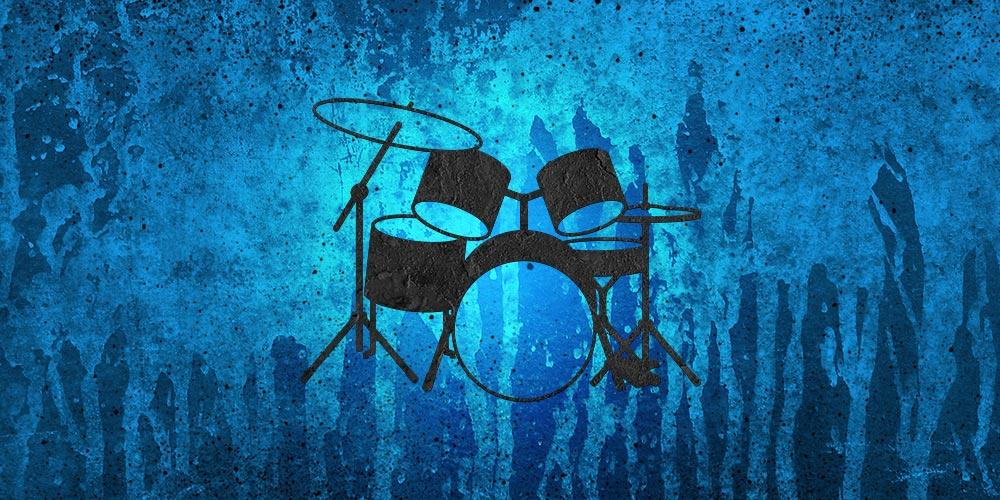 DrumSet blue
