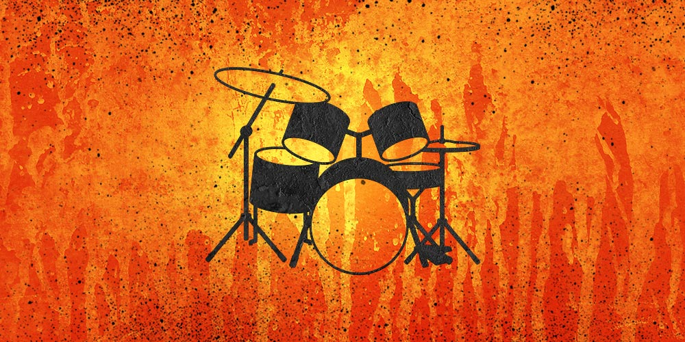 DrumSet orange