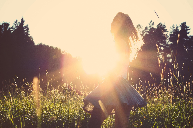 girl in skirt and sun jpeg