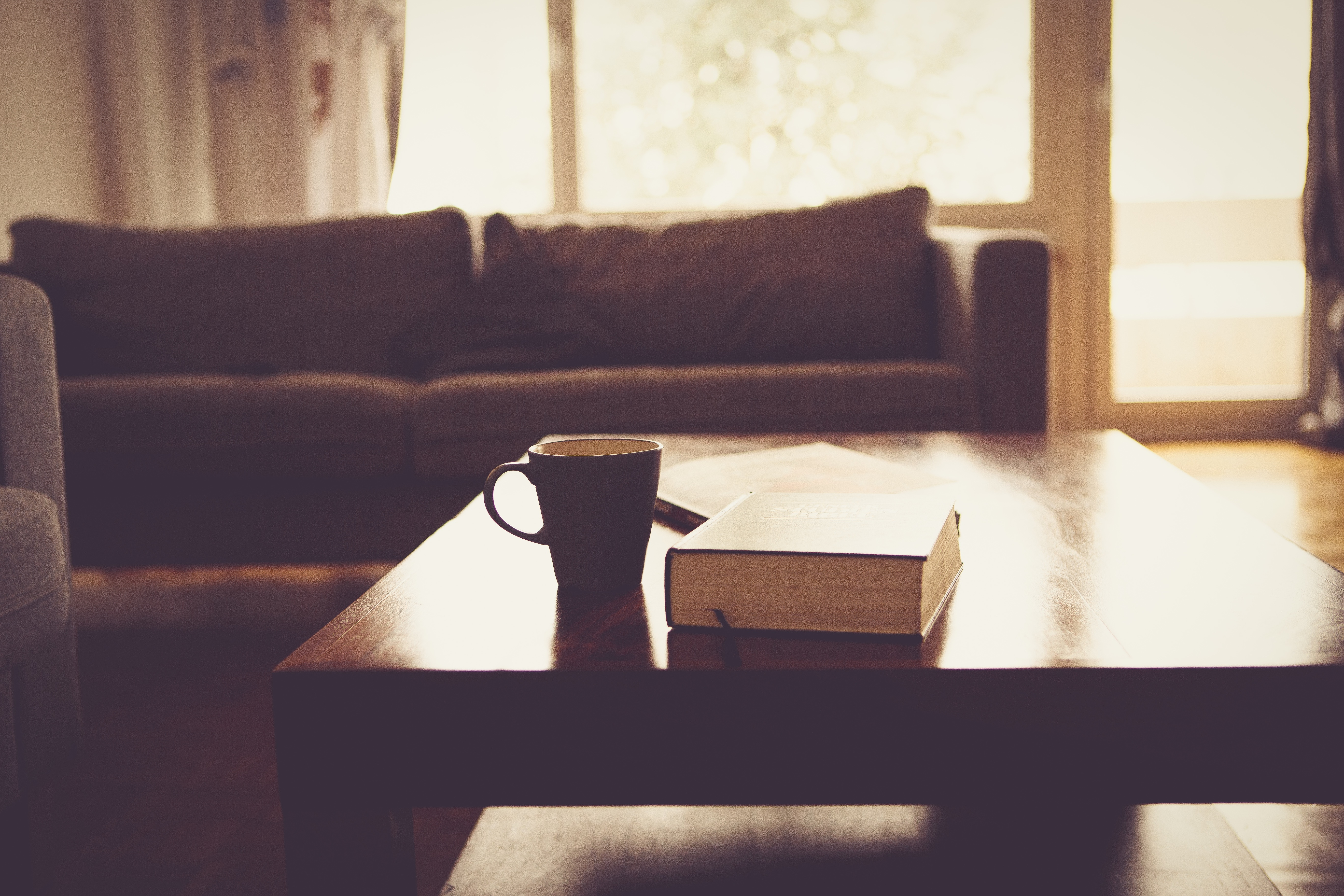 living room and book with coffee cup jpeg