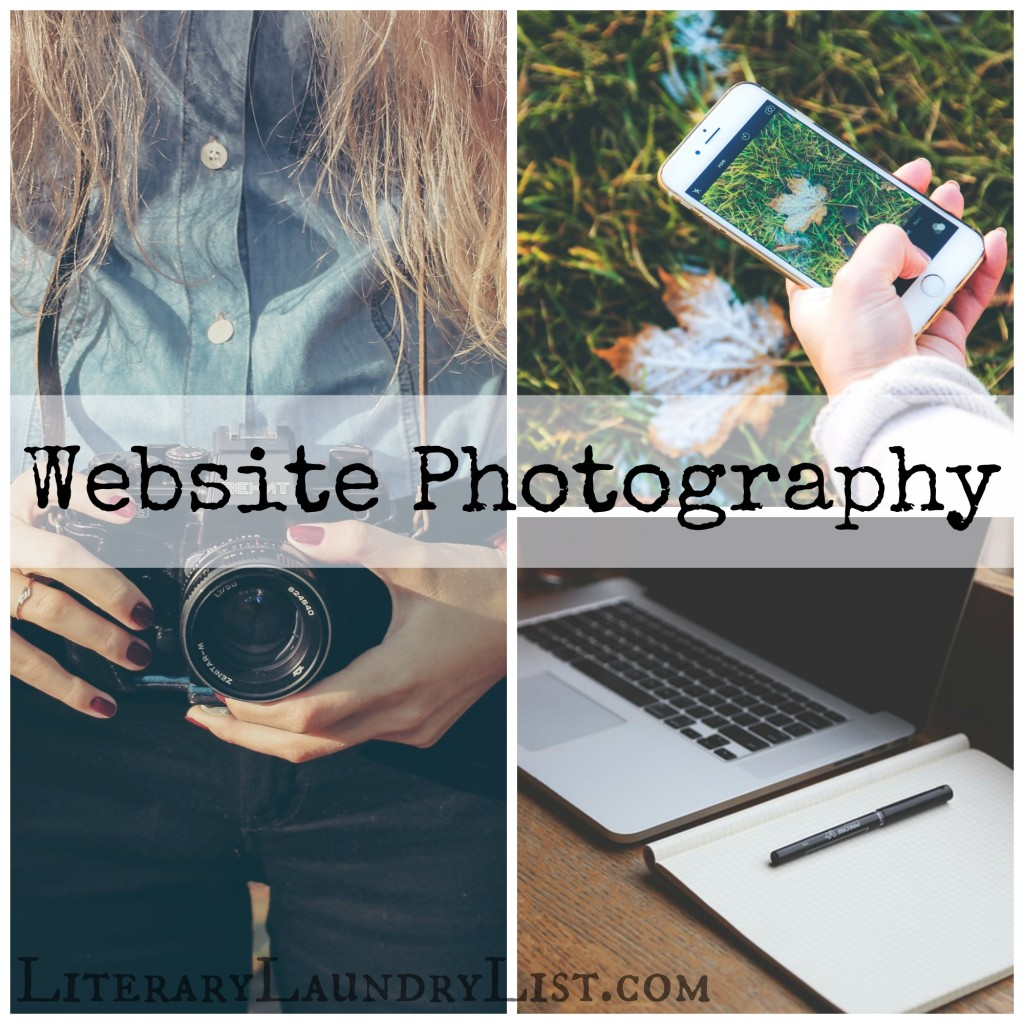 Site Photography for Bloggers - Literary Laundry List