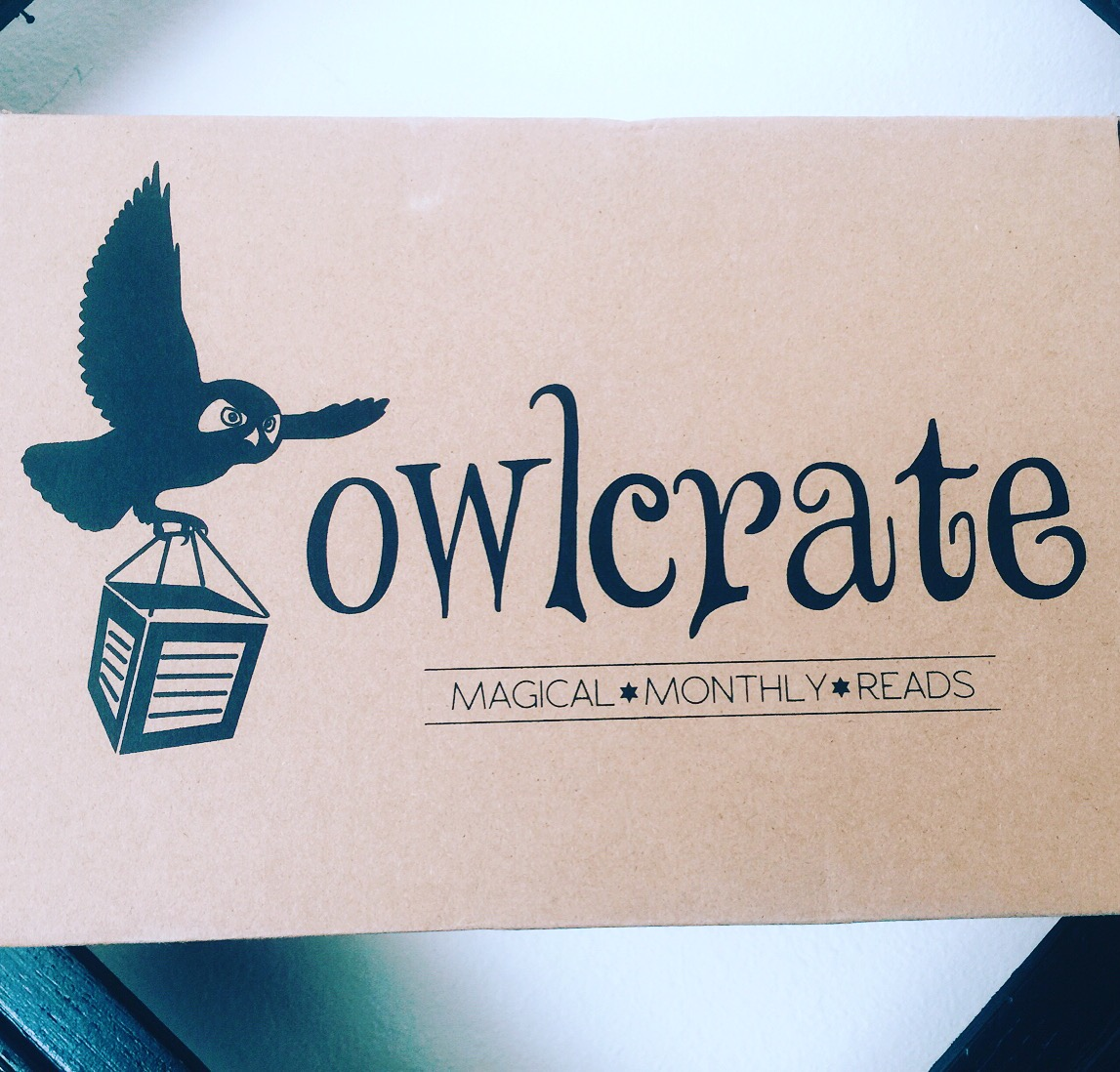 "March OwlCrate Book Box ""Writer's Block"" - Literary Laundry List"