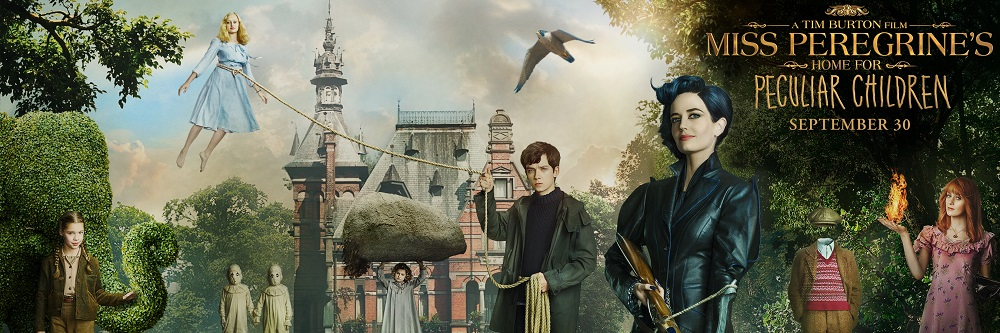 Miss Peregrine's Home for Peculiar Children Movie - Literary Laundry List