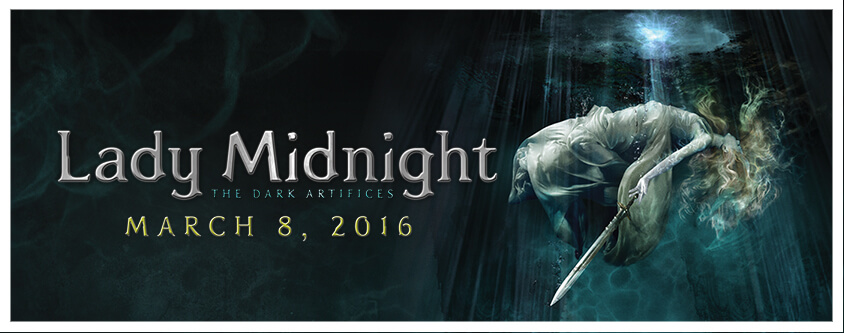 Lady Midnight, the newest edition to the Shadowhunters Chronicles - Literary Laundry List